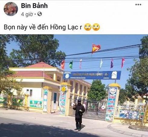 "Cong an xac dinh ""an may mat den"" xuat hien o truong hoc de... cau like"