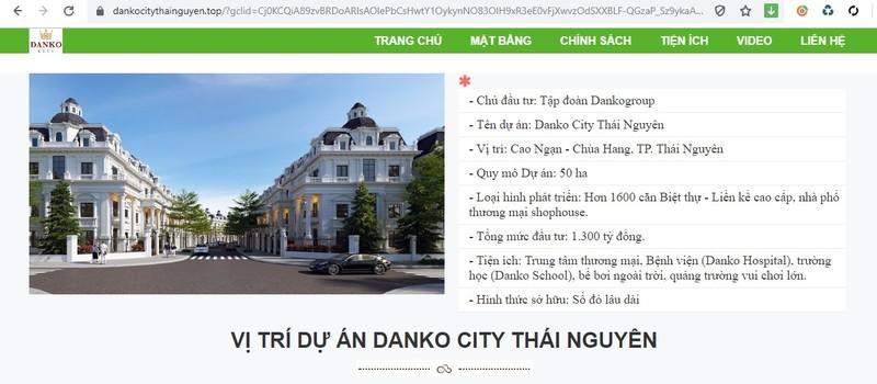 Du an Danko City chua duoc cap phep xay dung da dong tho ram ro?