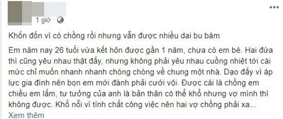"Chong vang nha, vo len mang ""tha thinh"" ai ngo bi 4, 5 trai tre du bam"