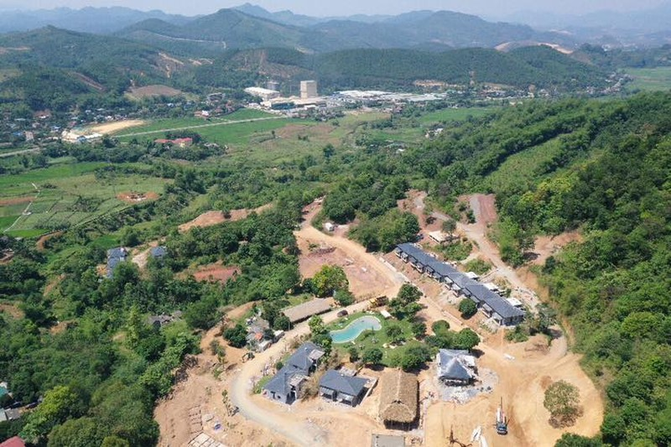 Du an Ohara Villas & Resort Hoa Binh: Rao ban ram ro... Chinh quyen noi
