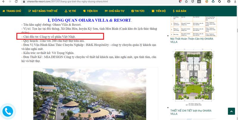 "Chinh quyen co ""ngo lo"" du an Ohara Villas & Resort Hoa Binh?-Hinh-3"