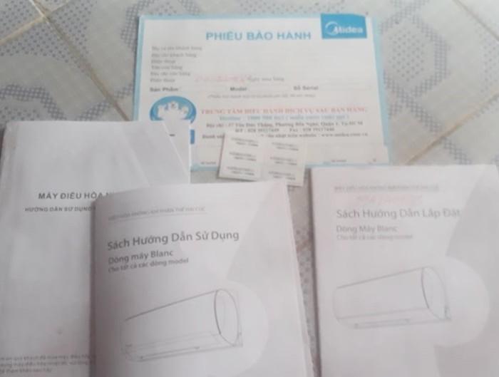 """Khach hang to Mediamart Thai Binh ban dieu hoa roi """"dem con bo cho""""?-Hinh-2"""