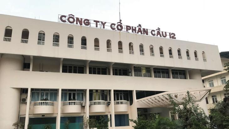 """""""Khui"""" tai chinh Cty Cau 12 trong danh sach 200 DN bi Thue Ha Noi """"beu ten"""""""