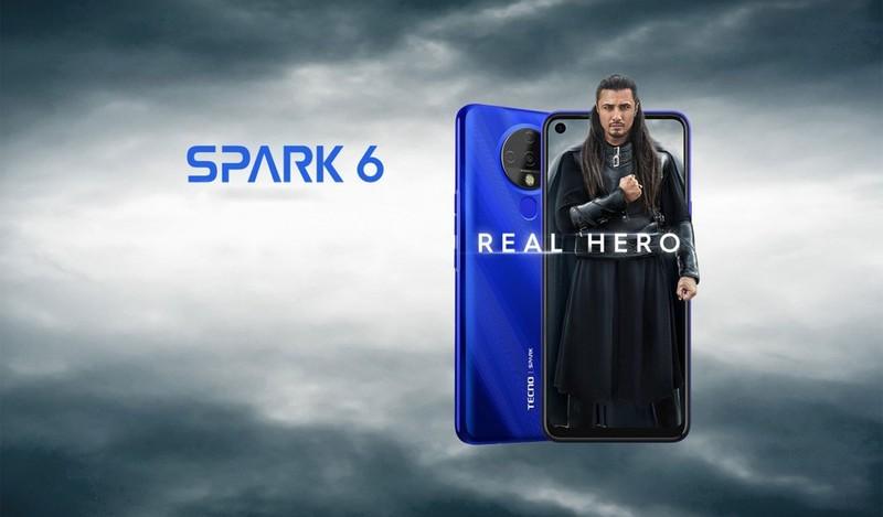 Smartphone man hinh 6,8 inch, 4 camera gia chi 125 USD