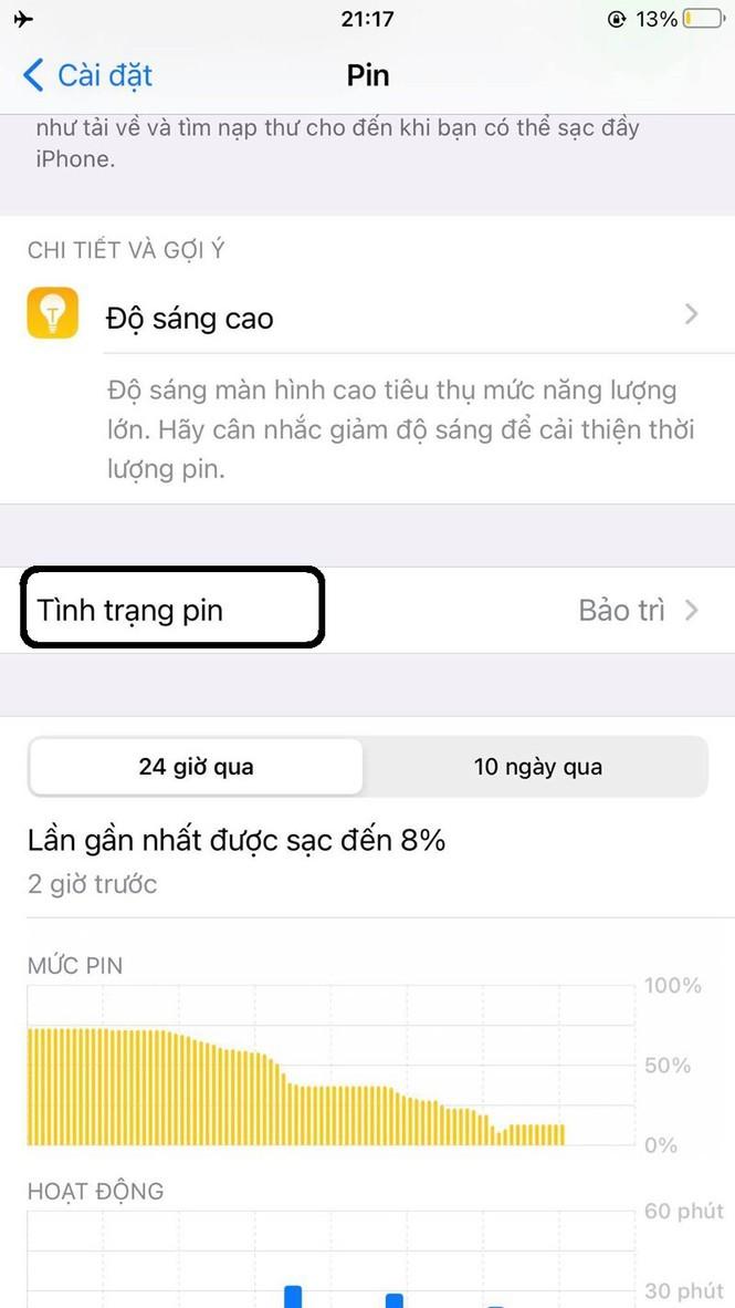Huong dan kiem tra muc do chai pin tren iPhone-Hinh-3
