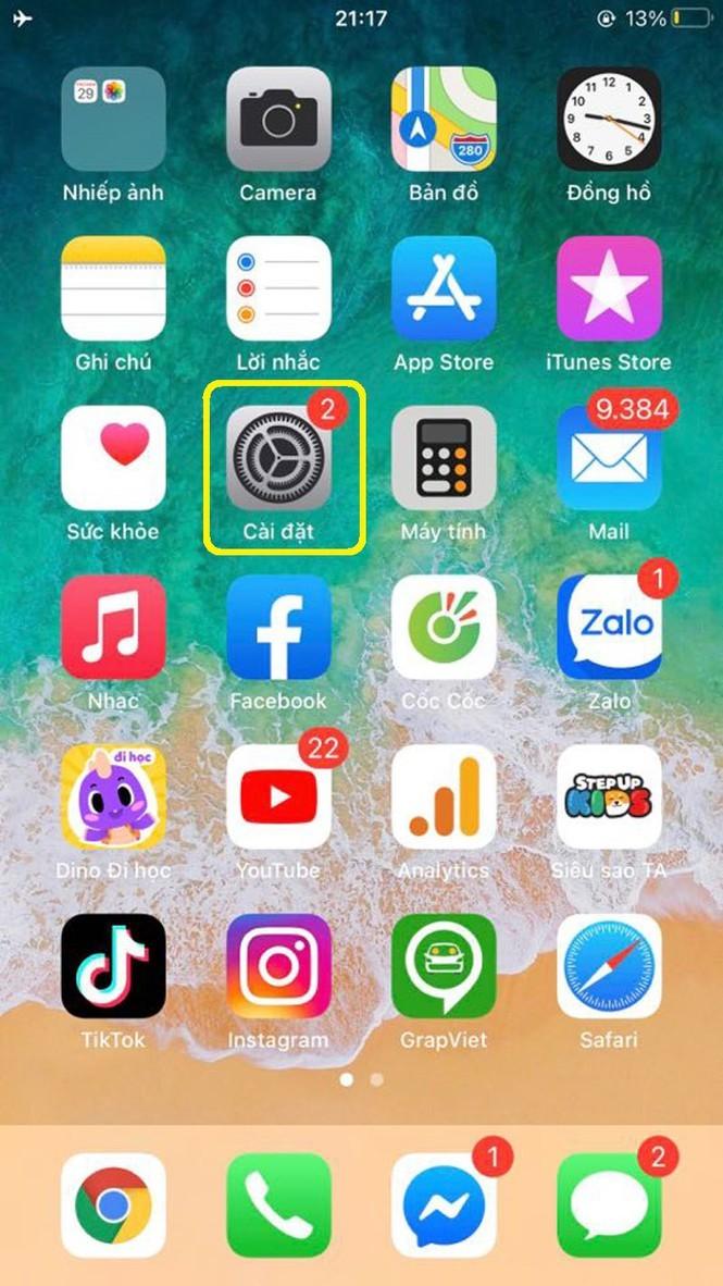 Huong dan kiem tra muc do chai pin tren iPhone