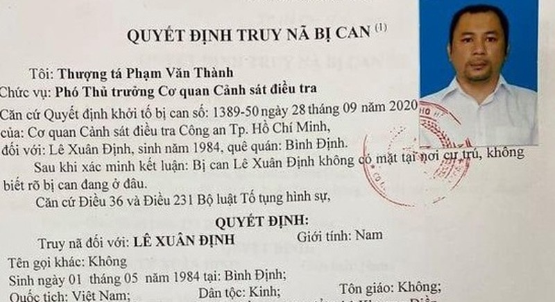Truy na Giam doc Cong ty Khuong Dien