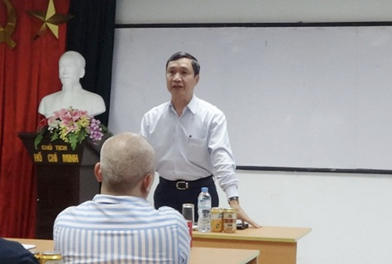 """Ong Phan Huy Le """"bi goi ten"""" vu Nguyen Duc Chung... dieu hanh Ha Thanh Group lo lai sao?"""