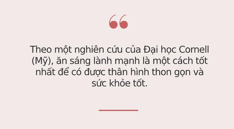 """7 mon """"bo tua nhan sam"""" bac si khuyen nen an vao bua sang"""