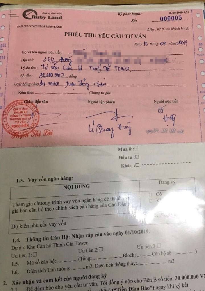 Du an Thinh Gia Tower - Ruby Land: Cty Ngoc Dien sai pham... khach can trong-Hinh-2