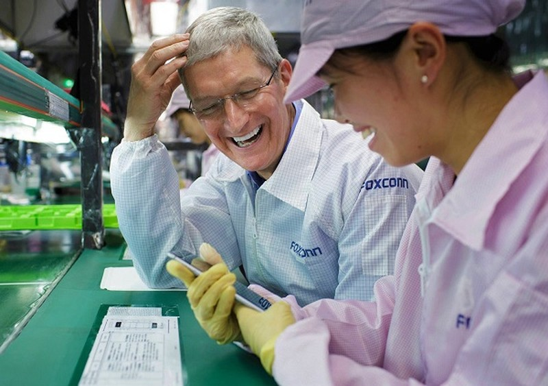 3 dia diem xu Thanh chon dat nha may Apple: Tim Cook chot