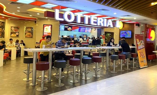 Chuoi Lotteria sap dong cua o Viet Nam?