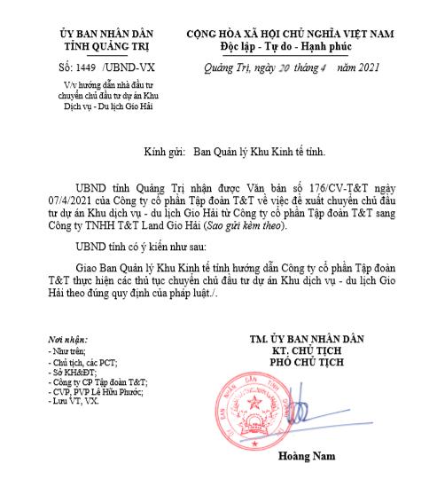 """Khu dich vu - du lich Gio Hai cua bau Hien thay """"chu"""": Nang luc CDT moi the nao?"""