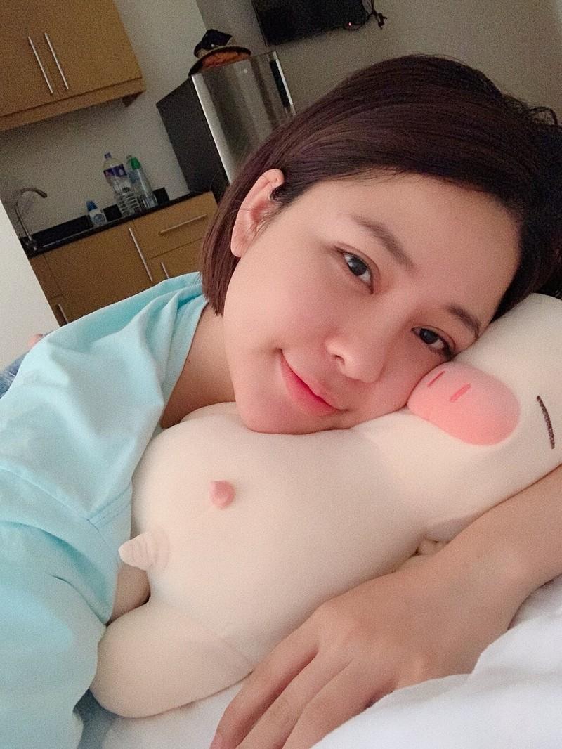 "Hotgirl Tram Anh khoe body ""cang det"" o be boi-Hinh-4"