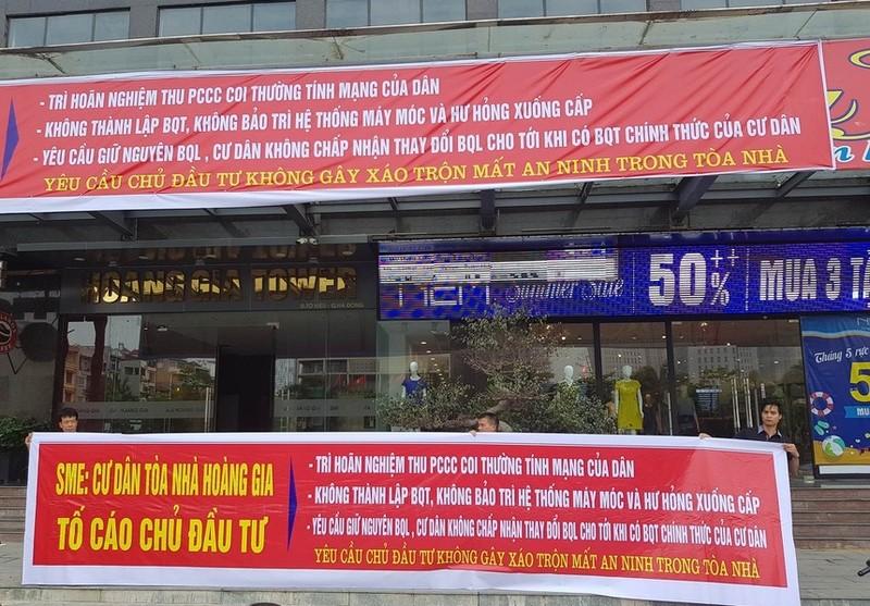 Chung cu vi pham PCCC: Ha Noi khong the xu BDS Hoang Gia, Song Da Thang Long...?