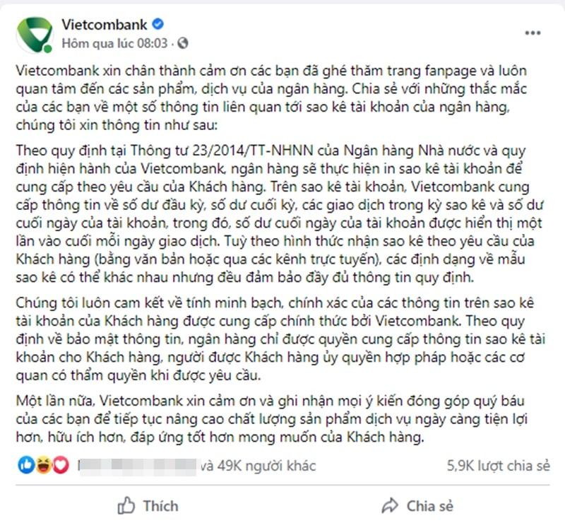 Tran Thanh phai sao ke: Khach hang tay chay Vietcombank?-Hinh-2