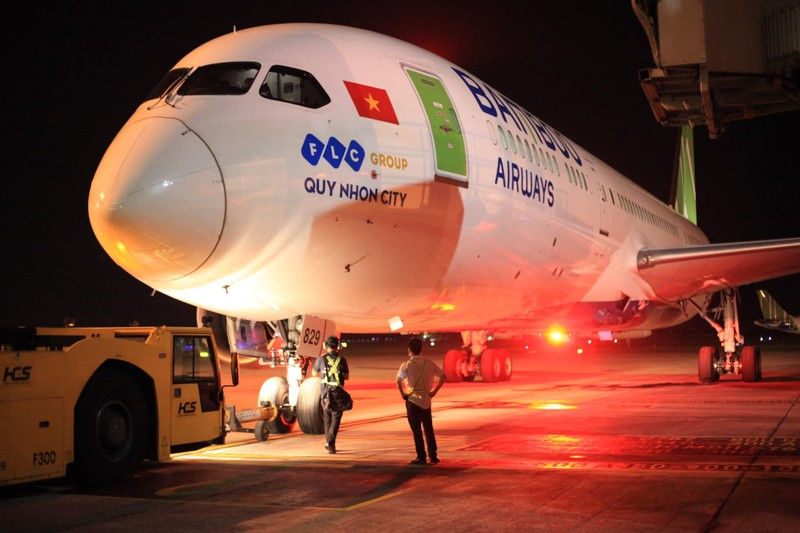 Bamboo Airways khai thac chuyen bay thang dau tien den My