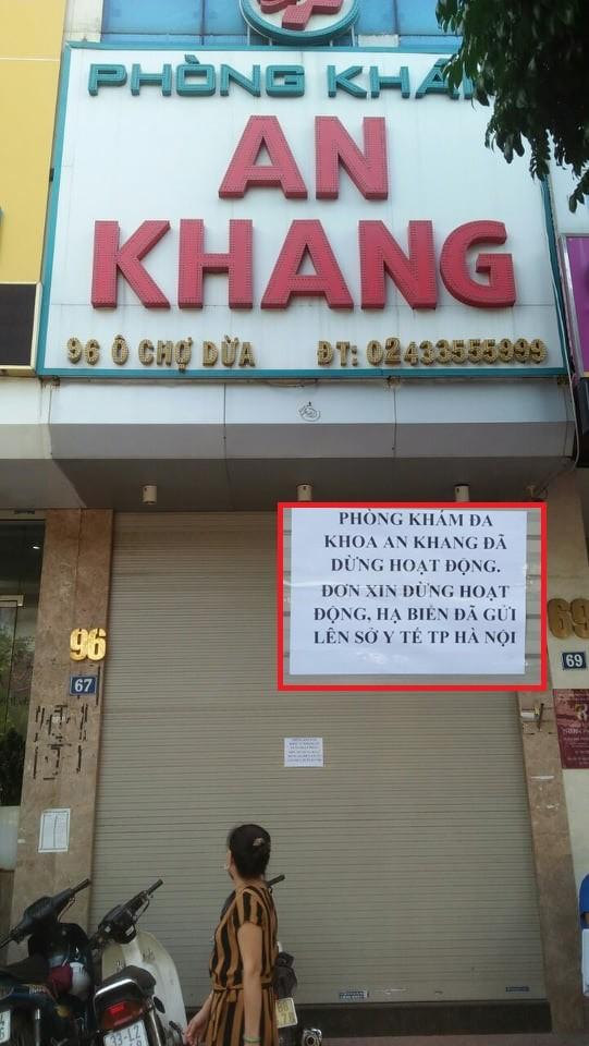 Phong kham An Khang bi to sai pham: