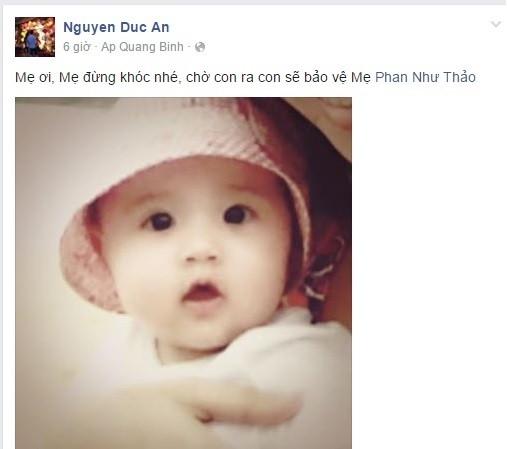 """Dai gia Duc An """"up mo"""" chuyen Phan Nhu Thao mang bau?"""
