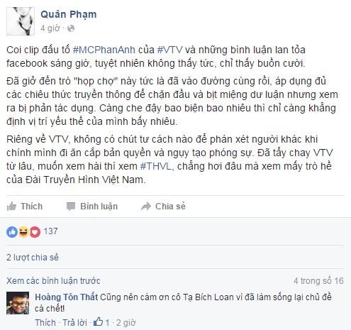 Ta Bich Loan cau like cho