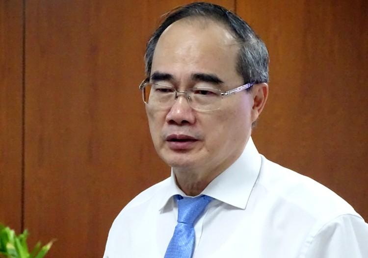 Sai pham cua ong Le Thanh Hai: Bi thu TP HCM Nguyen Thien Nhan noi gi?