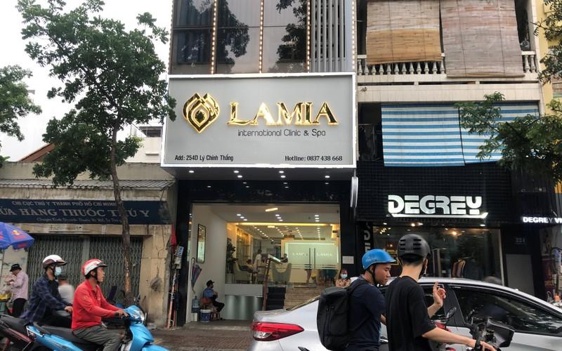 Tham my vien Lamia bi phat nang vi nhieu vi pham nghiem trong