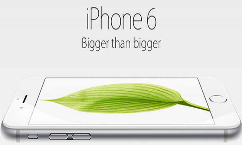 Dien thoai iPhone 6 vua ra mat Apple da bi Sony da deu