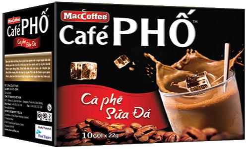Nguoi tieu dung phat hoang Maccoffee cafe Pho mat ve sinh