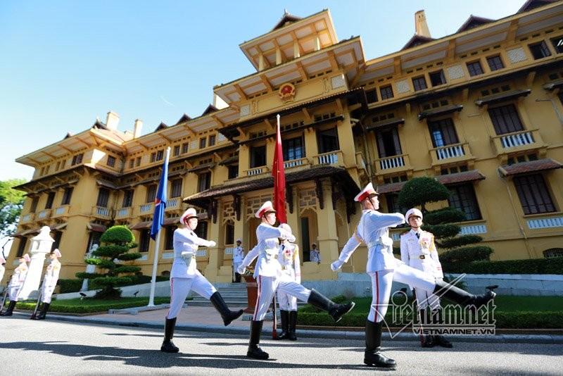 Anh: Can canh Le thuong co ASEAN nam 2017 tai Ha Noi-Hinh-7