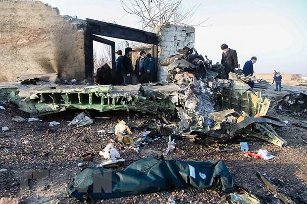 Iran cong bo ket qua phan tich du lieu hop den may bay Ukraine