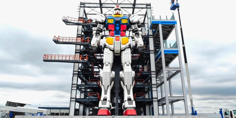 Sieu robot RX-78 Gundam 25 tan co kha nang dac biet gi?