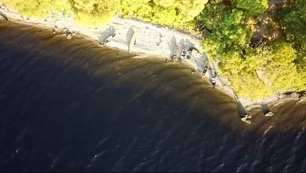 Phat hien vat the la nghi la quai vat ho Loch Ness o Scotland