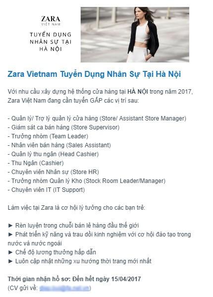 Zara chinh thuc do bo Ha Noi, mo cua hang tai Vincom Ba Trieu-Hinh-2