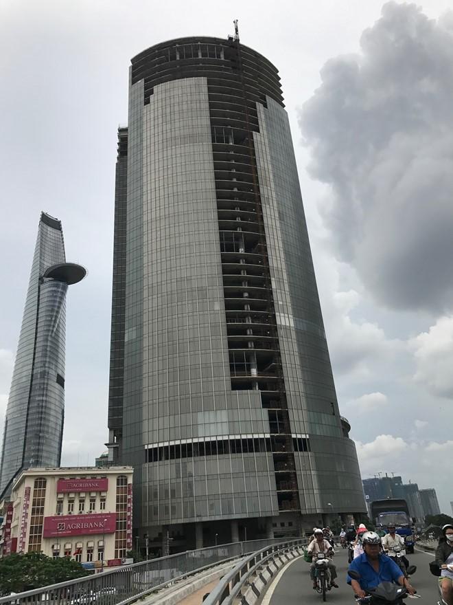 "Thu giu Saigon One Tower la ""an le"" xu ly no xau BDS"