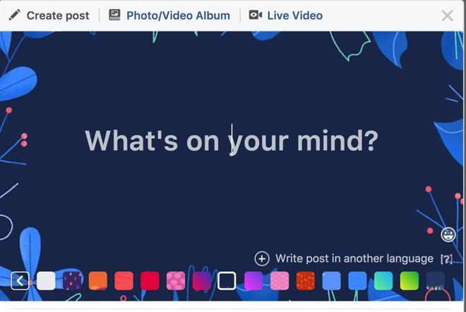 Facebook dang thu nghiem binh luan co mau-Hinh-2