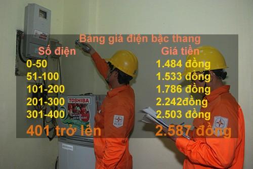 """Doc chieu """"tron"""" gia dien cao: Dung nhieu khong lo hoa don dat do"""