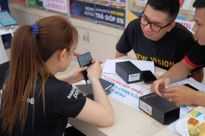 20.000 may Samsung Note FE duoc dat mua truoc tai Viet Nam