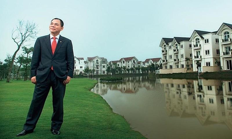 Vinhomes niem yet, ty phu Pham Nhat Vuong se giau co nao?