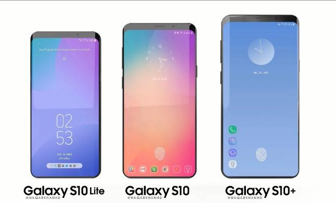 Samsung Galaxy S10 qua dep, fan iPhone X chia dan xe nghe?