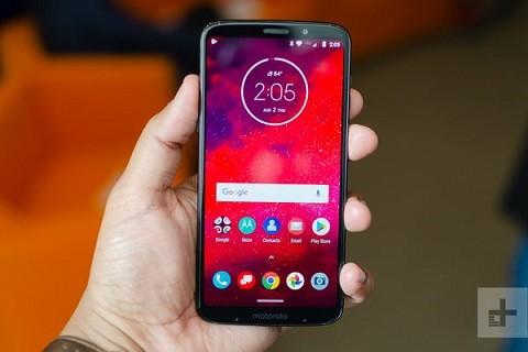 Kham pha smartphone 5G dau tien tren the gioi vua ra mat