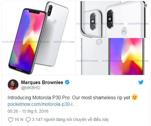 """Motorola bi che gieu """"khong biet xau ho"""" khi nhai iPhone X trang tron-Hinh-2"""