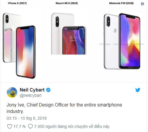 """Motorola bi che gieu """"khong biet xau ho"""" khi nhai iPhone X trang tron-Hinh-4"""
