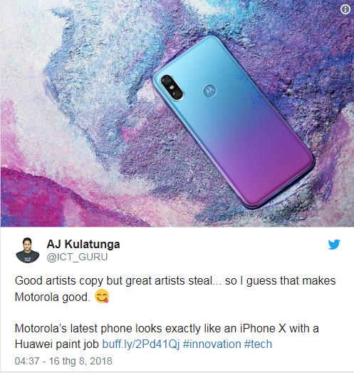 """Motorola bi che gieu """"khong biet xau ho"""" khi nhai iPhone X trang tron-Hinh-5"""