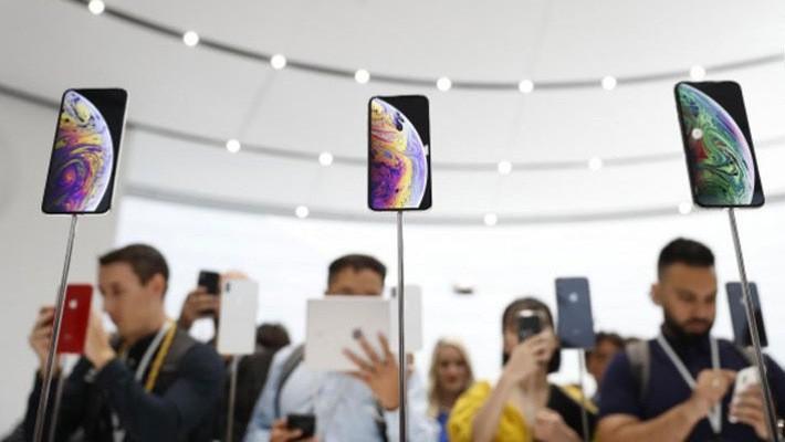 Co phieu Apple sut gia sau khi iPhone moi ra mat