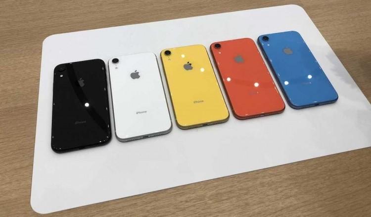 Phien ban mau san ho cua iPhone Xr la mau gi?