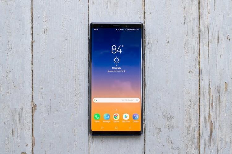 Samsung Galaxy Note 10 se duoc Samsung trang bi man hinh khong lo