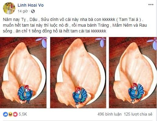 Hoai Linh tiet lo doc chieu giai han