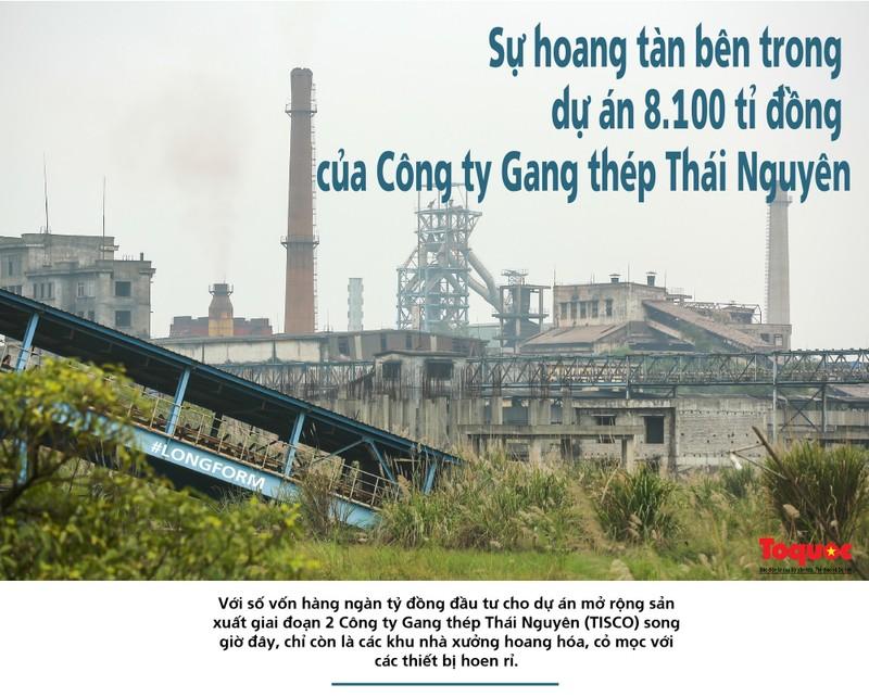 Su hoang tan trong du an 8.100 ti cua Gang thep Thai Nguyen