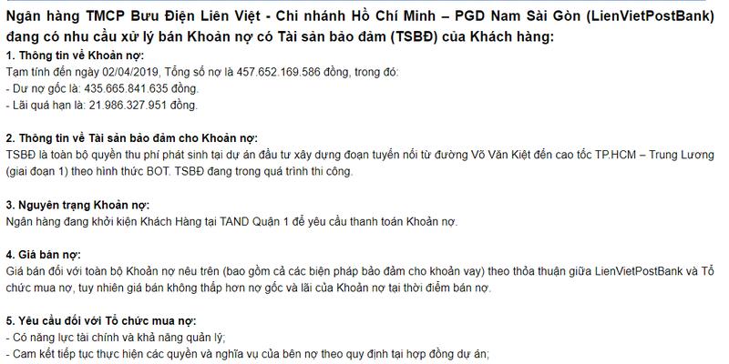Ba chu 8X Vu Thi Hoan vuong lao ly, Yen Khanh gap van den