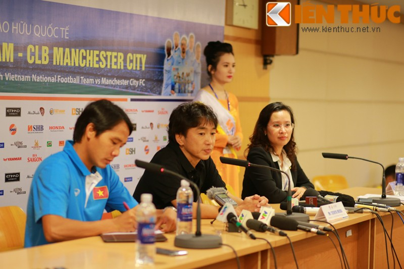 DTVN - Man City: HLV Miura khong bat ngo ve ty so